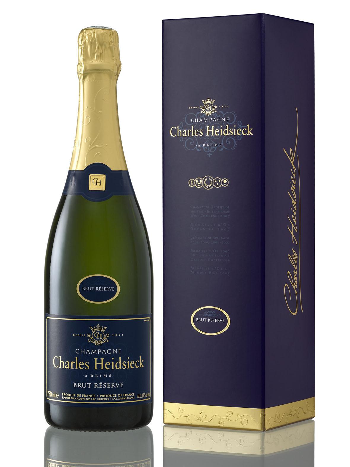 Le champagne le plus savoureux dans le monde for Les decoratives brut de terre