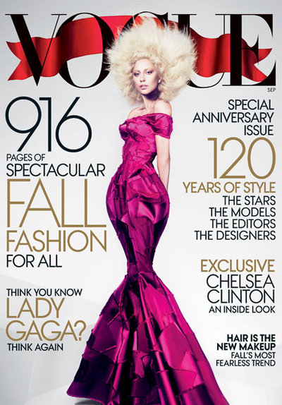 Rahw Rahw – VOGUE – Ooh La La: Vogue's MONSTER Sept. Issue with Lady Gaga!