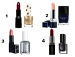 MONTHY MAKEUP MONDAY: 4 Lip & Nail Pairings For F/W 2012 PLUS A CONTEST!!!