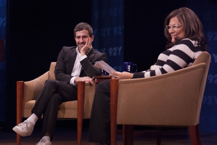 """My Evening of """"Fashion Icons with Fern Mallis: Marc Jacobs"""" at92Y"""