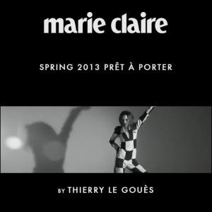 Marie Claire Italia's Pret-a-Porter  Spring 2013 Film with MilaKrasnoiarova.