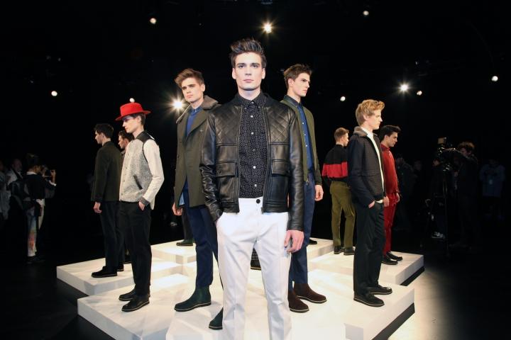 MBFW Fall 2013- TIMO WEILANDMenswear