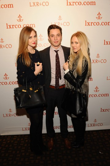 Chiara Ferragni of The Blond Salad Jean-Philippe R. of LXR & Co.and Shea Marie of Peace Love Shea Getty Images