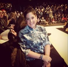 Me Sitting Front Row at #RMFall
