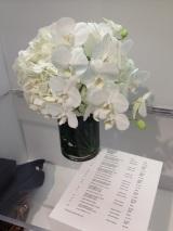 flowers at Escada