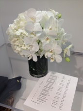 flowers at Escada