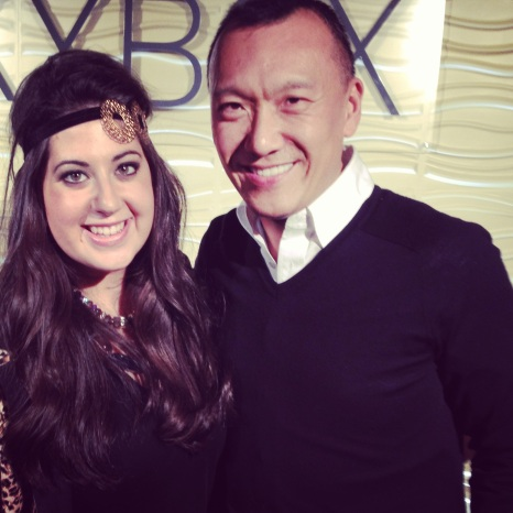 Myself with Joe Zee