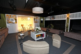 The AMEX & LC MBFW Sky Box Lounge