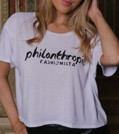 KARMA FOR A CURE - Philanthropic Fashionista Tee