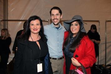 Friends!!! Catherine Schiffer - Sales Director & Alex Simon - Designer for Bibhu Mohapatra