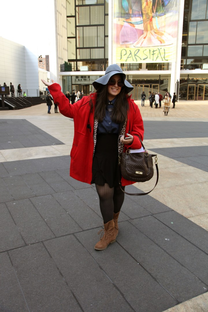 Dara's Sent Style: What I Wore On My Last Day Of MBFW (The Girl in the Red Coat)