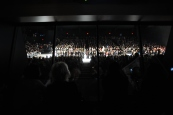 The View from the AMEX in Lincoln Center SKyBox