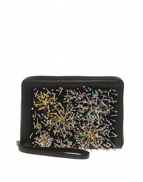ASOS Clutch Bag With Firework Beading $35.64