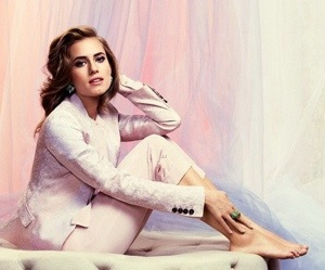 InStyle UK Gets Girly With Allison Williams