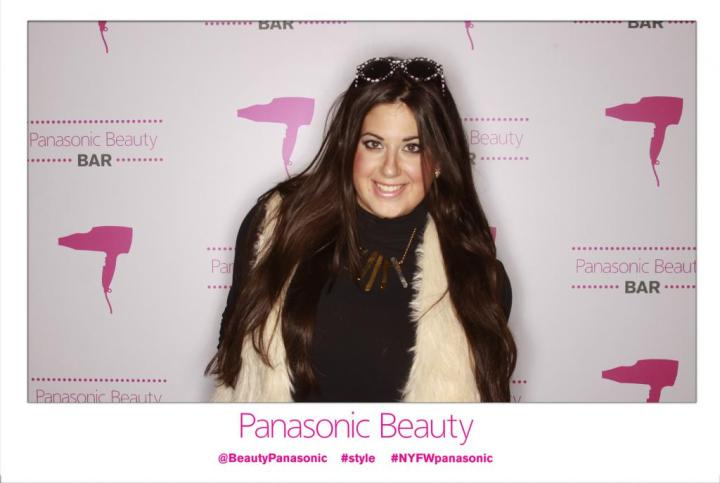 NYFW F/W14 – PANASONIC BEAUTY BAR