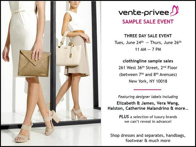 EVENT: VENTE-PRIVEE HOSTS FIRST-EVER SAMPLE SALE