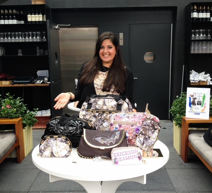 Erickson Beamon x LeSportSac Collaboration Launch