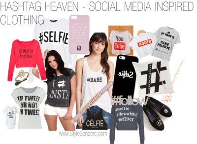 Hashtag Heaven – Social Media Inspired Clothing