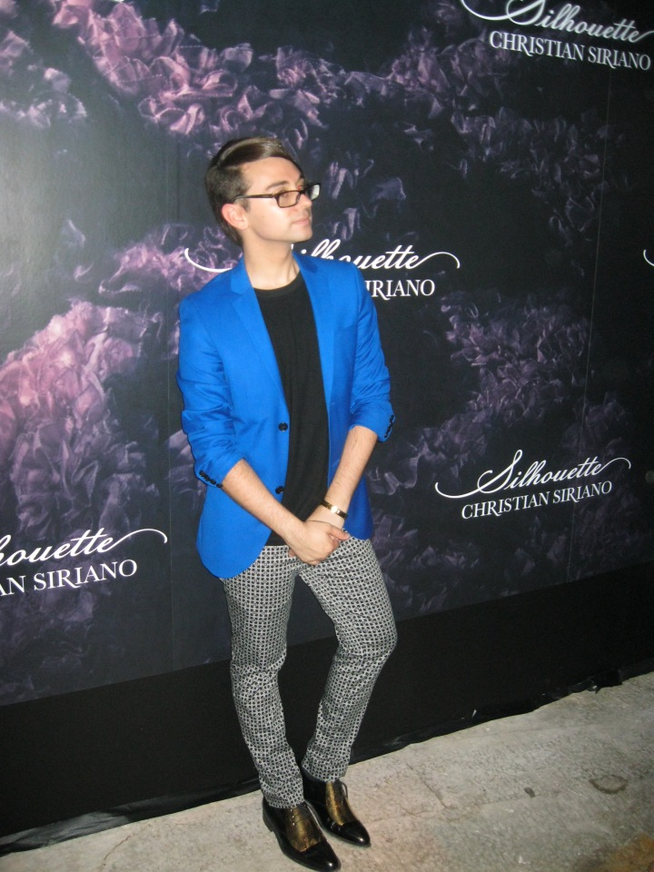 CHRISTIAN SIRIANO'S SILHOUETTE FRAGERANCE LAUNCH PARTY