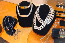 Ann Dexter-Jones Silver and Gold ID Necklaces