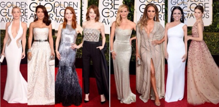 72nd Annual Golden Globes Best of Red Carpet Fashion
