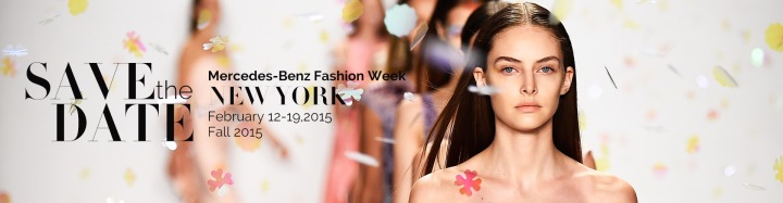 MERCEDES-BENZ FASHION WEEK FALL 2015 IS HERE!!