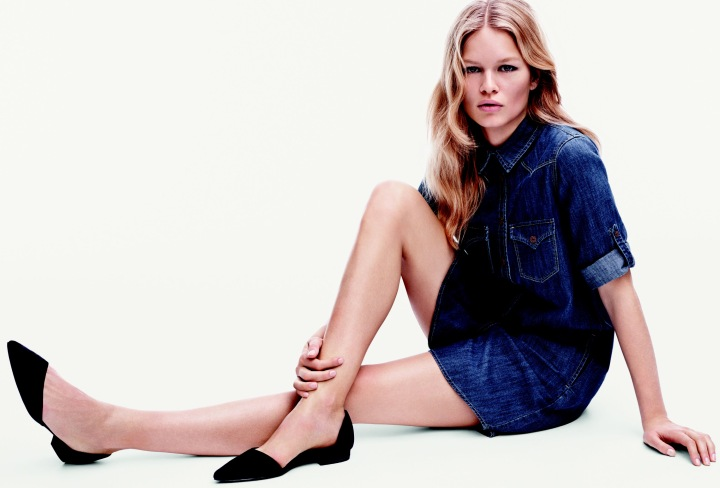 A Little 70's Vibe – Mango x Anna Ewers Spring 2015 Campaign