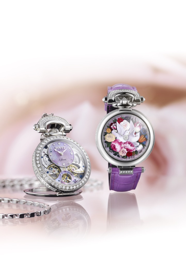 Only Watch – BOVET PreviewsLady BOVET – A Unique Piece for a WonderfulCause