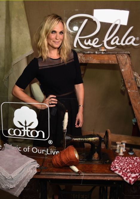 Molly Sims Hosts Cotton & Rue La La's Fashion Showcase