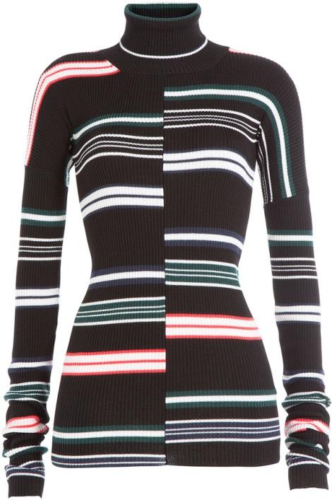 Kenzo Striped turtleneck sweater