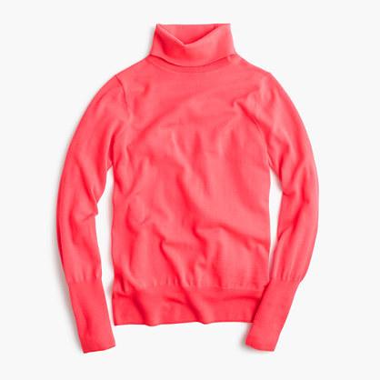J. Crew Classic turtleneck sweater in merino wool