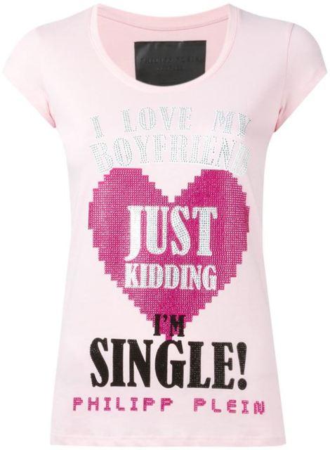 Philipp Plein 'I Love MY Boyfriend' T-shirt