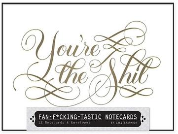 RH BOOK CLUB Fan F**king Tastic Notecards