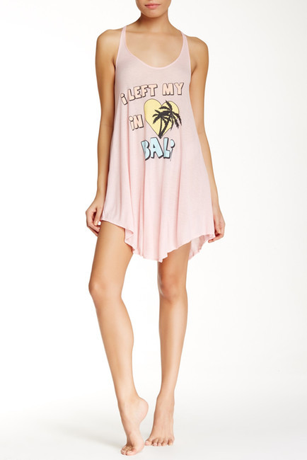 WILDFOX Left My Heart In Bali Cover-Up Tank