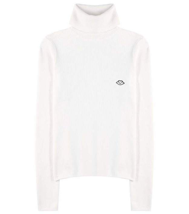 See By ChloÉ Wool-blend turtleneck sweater