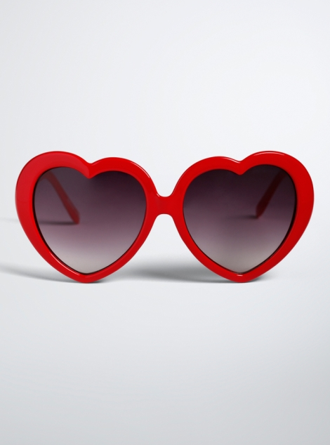 Torrid Heart Shaped Sunglasses