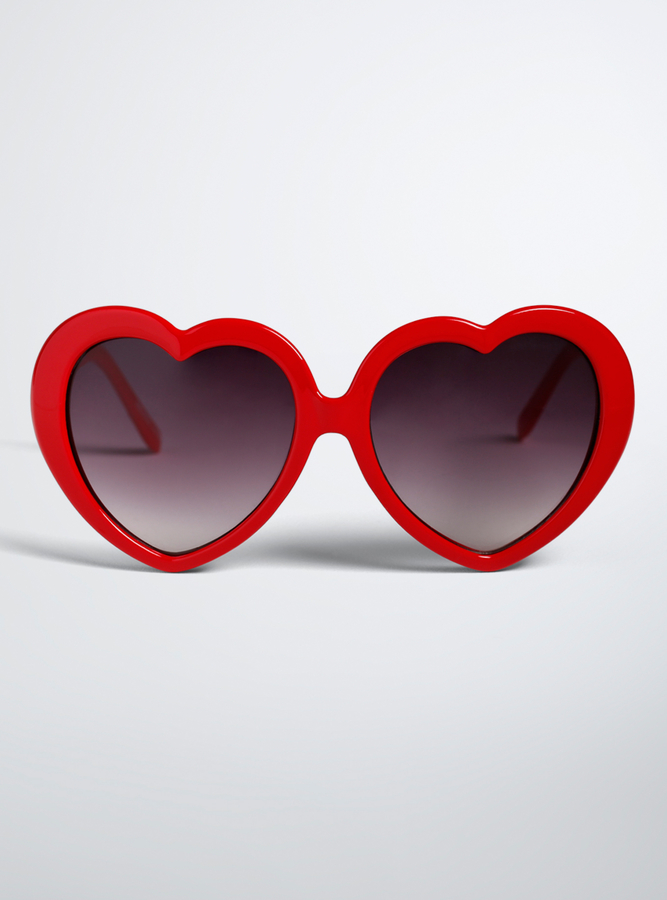 Torrid Heart Shaped Sunglasses