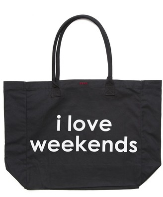 PEACE LOVE WORLD - I Love Weekends Luly Bag