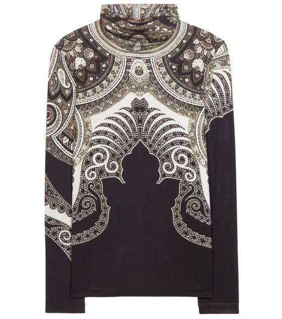 Etro Paisley print turtleneck sweater