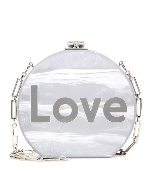 Edie Parker Oscar Love box clutch