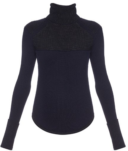 ISABEL MARANT Hess merino-wool blend roll-neck sweater