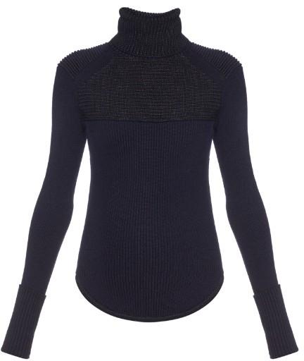 ISABEL MARANT Hess merino-wool blend roll-neck sweater