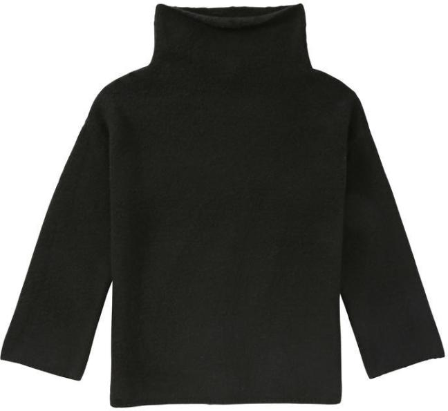 Joe Fresh Funnel Neck Sweater - Black