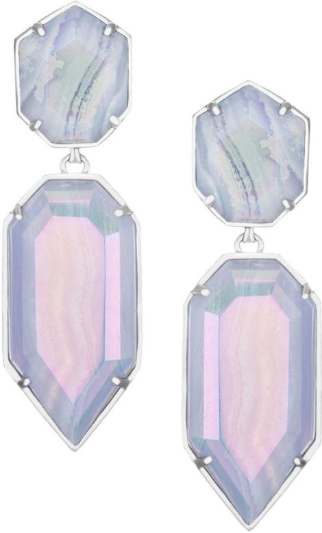 Kendra Scott Perla Glass Drop Earrings