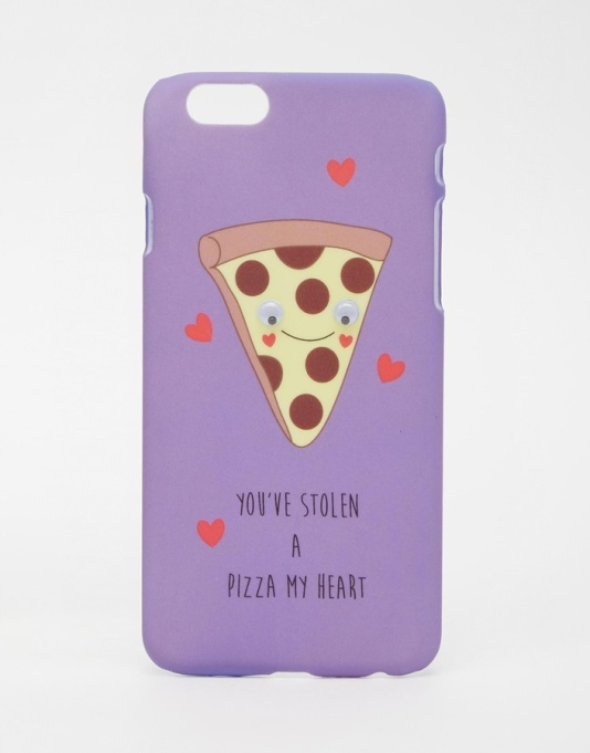 ASOS COLLECTION ASOS Valentines iPhone 6 and 6s Case You Stole A Pizza My Heart