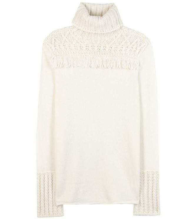 Tory Burch Wool-blend turtleneck sweater