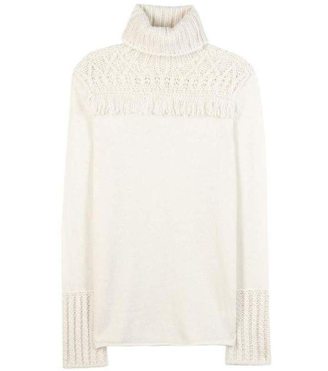 Tory Burch Wool-blend turtleneck sweater