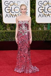 Kate Bosworth In Dolce & Gabbana dress and Norman Silverman Diamonds.