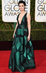 Jaime Alexander Genny dress, Jimmy Choo shoes, and Lorraine Schwartz jewelry.
