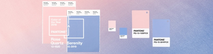 Pantone's 2016 Color Of The Year is….(there's two)
